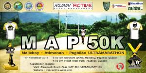 1MAP 50k Ultra Marthon 2013 Poster
