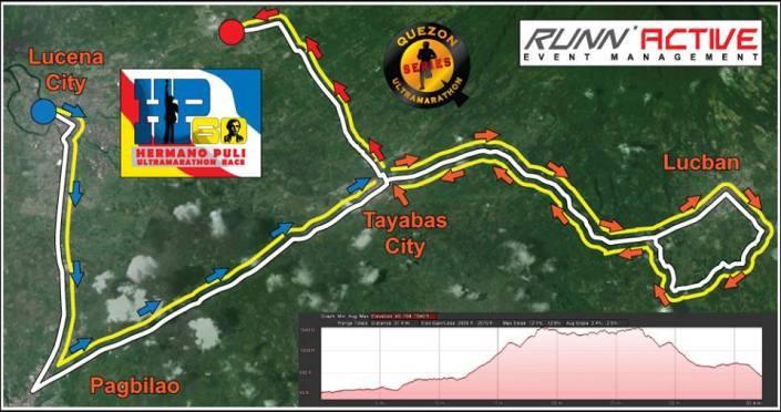 HP60km Ultra Marathon OFFICIAL RACE MAP